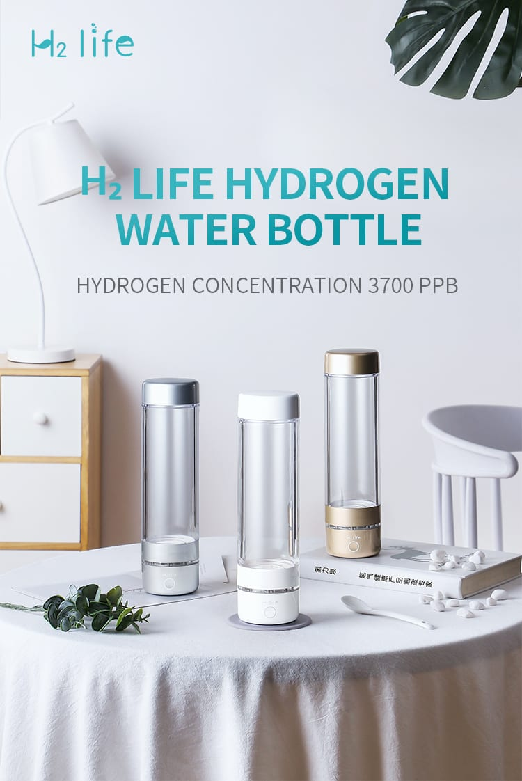 Hydrogen water bottle from H2Life