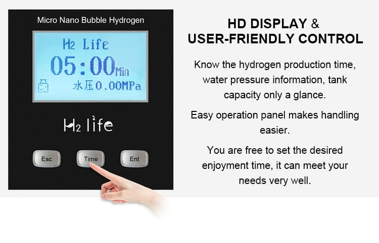 HD Display and user friendly