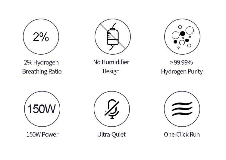 features of hydrogen inhalation machine from H2 life