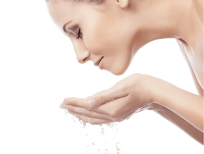 skin benefits by hydrogen rich water