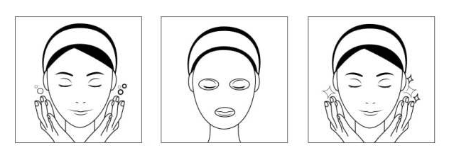 hydrogen rich water to use as facial mask