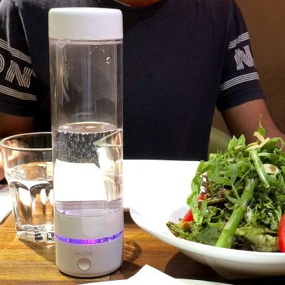 Hydrogen water bottle from H2 life